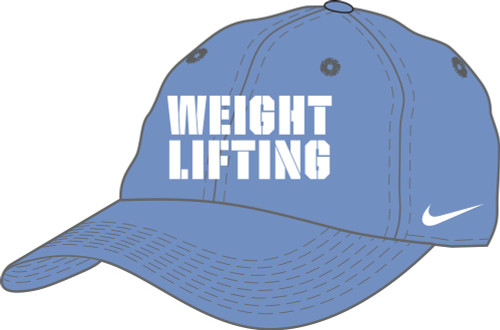 Nike Weightlifting Campus Cap - Valor Blue/White