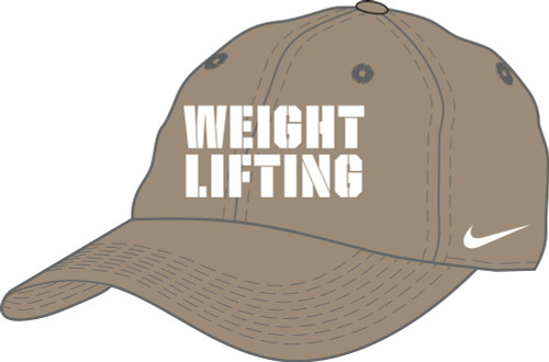 Nike Weightlifting Campus Cap - Khaki/White
