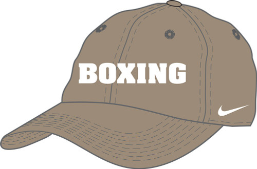 Nike Boxing Campus Cap - Khaki/White