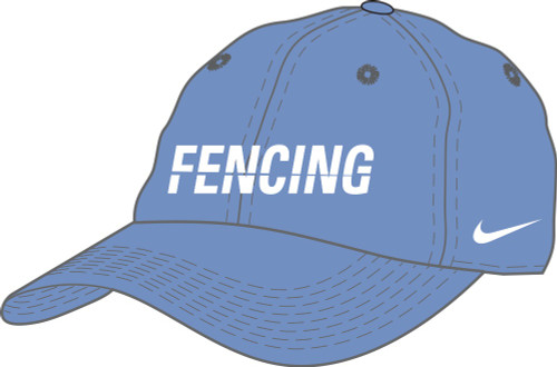Nike Fencing Campus Cap - Valor Blue/White