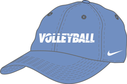 Nike Volleyball Campus Cap - Valor Blue/White