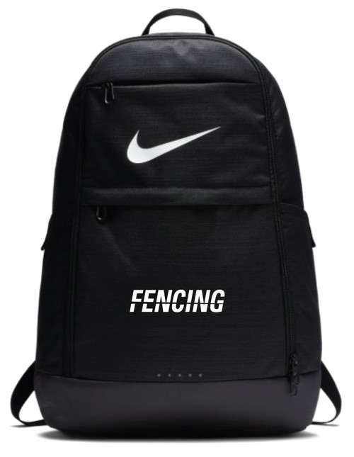 Nike Fencing Brasilia Backpack - Black/White