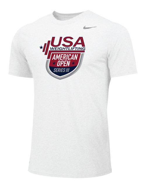 Nike Men's USAW Virtual AO3 Legend SS Crew - White