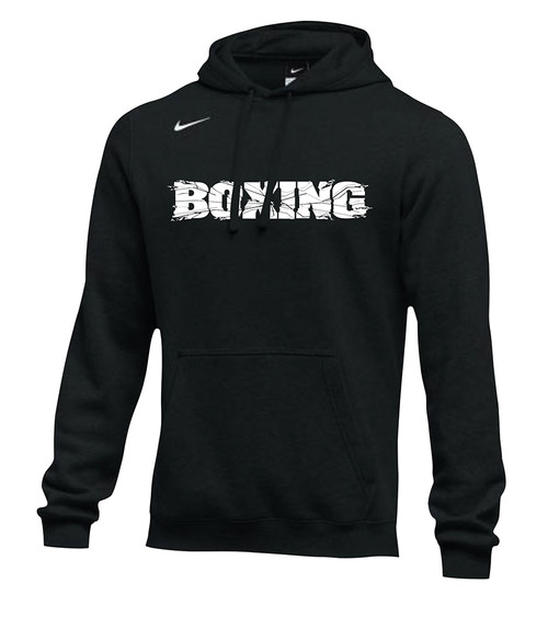 Nike Men's Boxing Club Fleece Hoodie - Black/White