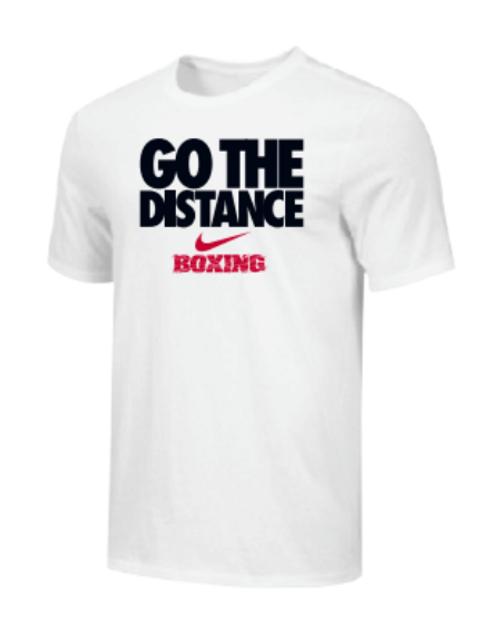 Nike Men's Boxing Go The Distance Tee - White