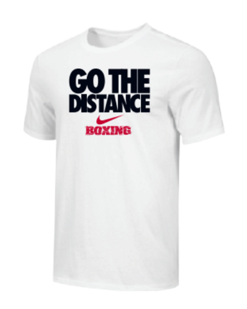Nike Youth Boxing Go The Distance Tee - White