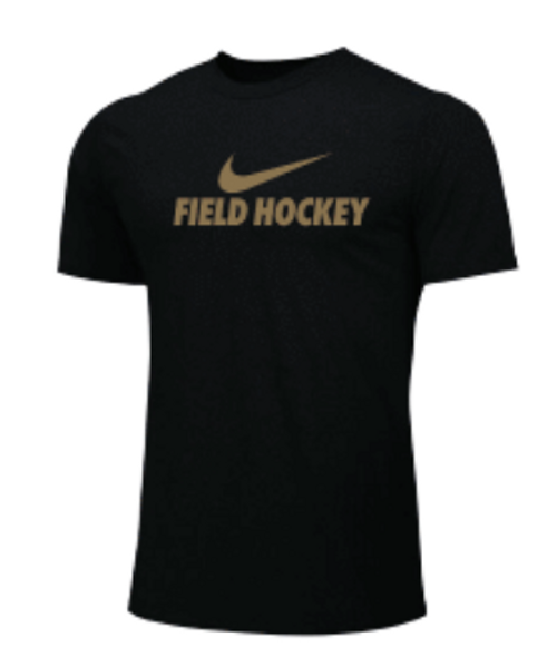 Nike Men's Field Hockey Tee - Gold/Black