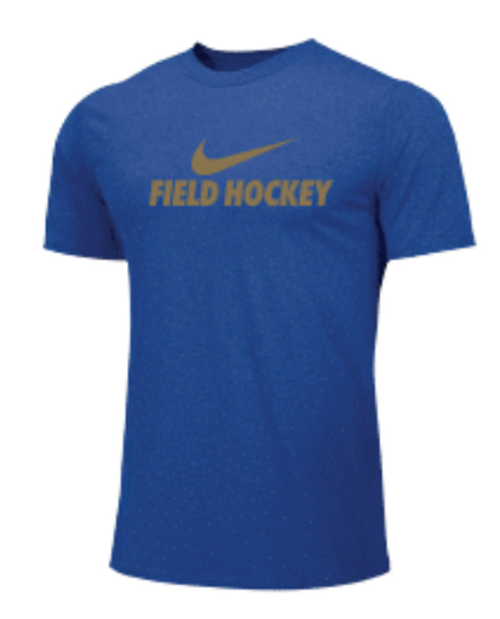 Nike Men's Field Hockey Tee - Royal