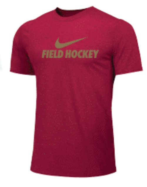 Nike Men's Field Hockey Tee - Red
