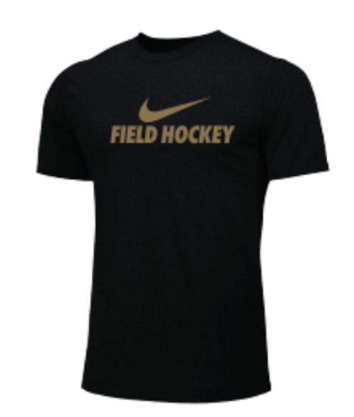 Nike Youth Field Hockey Tee - Black