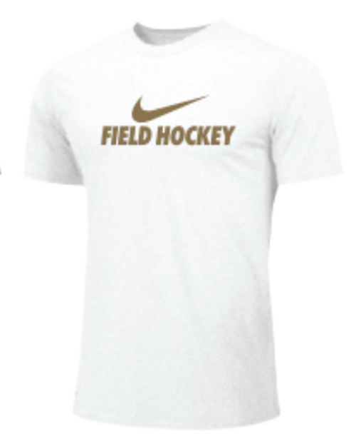 Nike Youth Field Hockey Tee - White