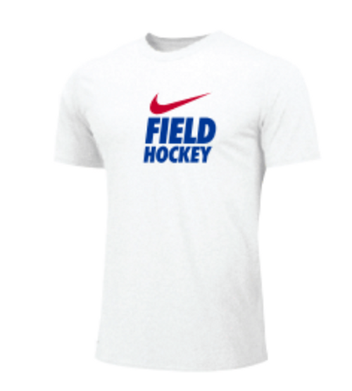 Nike Men's Field Hockey Tee - White/Blue