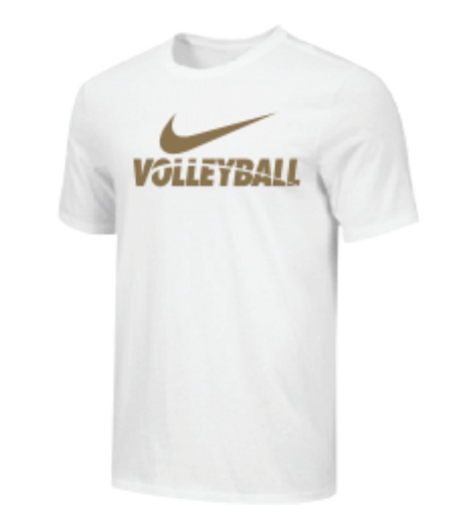 Nike Youth Volleyball Tee - White