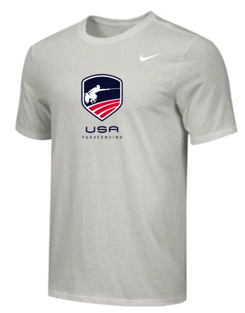 Nike Youth USA Parafencing Tee - Grey