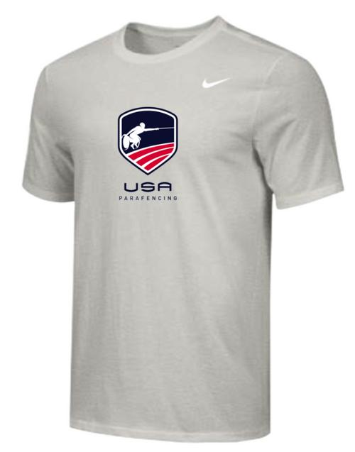 Nike Youth USA Parafencing Tee - Grey