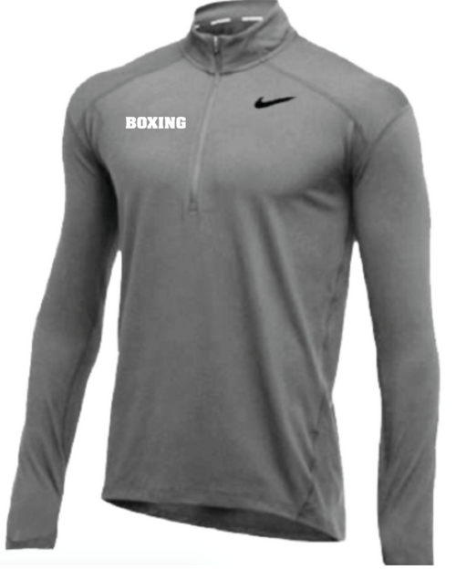 Nike Men's Boxing 1/2 Zip Top - Grey