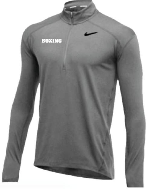 Nike Men's Boxing 1/2 Zip Top - Grey