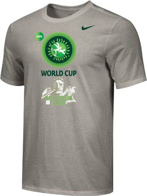 Nike Men's UWW Belgrade World Cup Tee - Grey