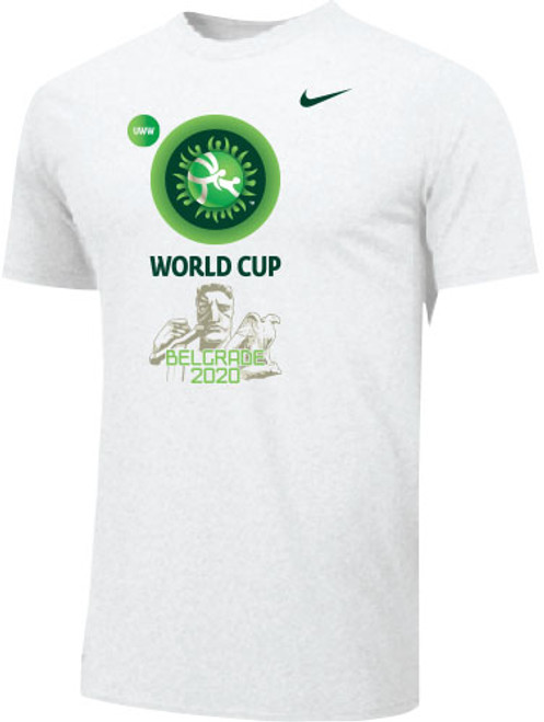 Nike Men's UWW Belgrade World Cup Tee - White