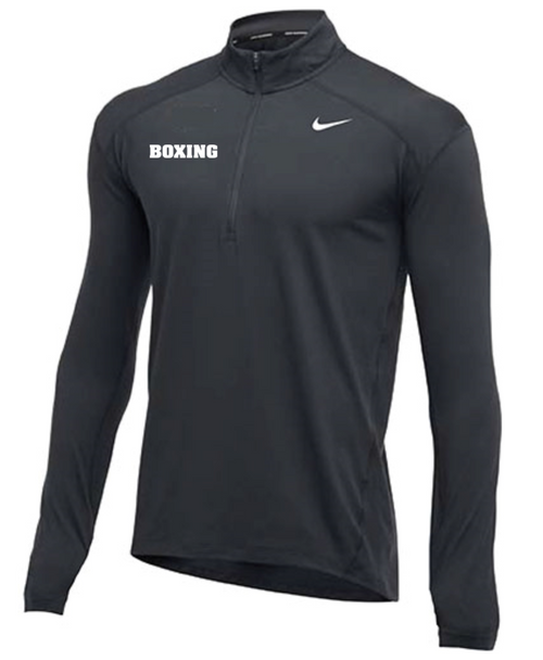 Nike Men's Boxing 1/2 Zip Top - Charcoal
