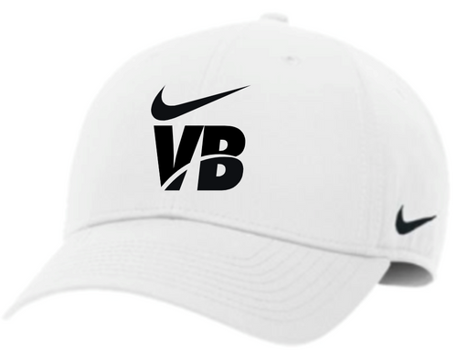 Nike Volleyball Campus Cap - White/Black