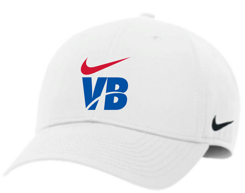 Nike Volleyball Campus Cap - White/Red/Blue