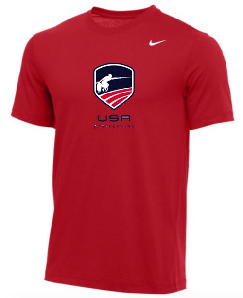 Nike Men's USA Parafencing Tee - Red