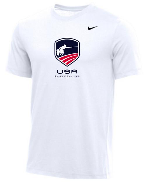 Nike Men's USA Parafencing Tee - White