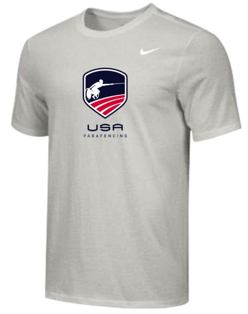 Nike Men's USA Parafencing Tee - Grey