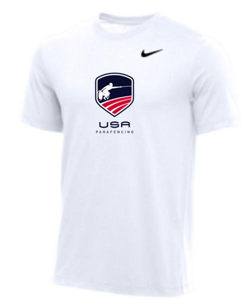 Nike Youth USA Parafencing Tee - White