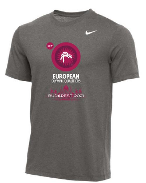 Nike Men's UWW European Olympic Qualifier Tee - Grey