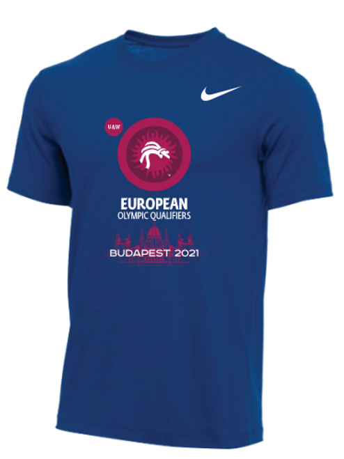Nike Men's UWW European Olympic Qualifier Tee - Royal Blue