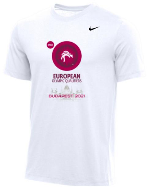 Nike Men's UWW European Olympic Qualifier Tee - White
