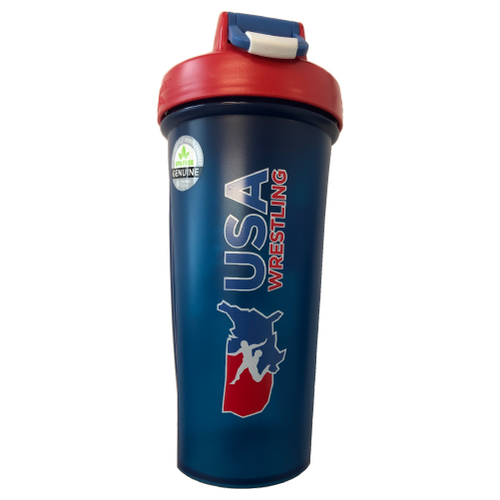 USA Wrestling Blender Bottle - Navy/Red