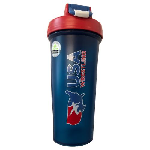 USA Wrestling Blender Bottle - Navy/Red