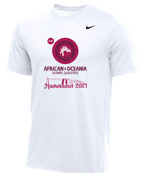 Nike Men's UWW African & Oceania Olympic Qualifier Tee - White