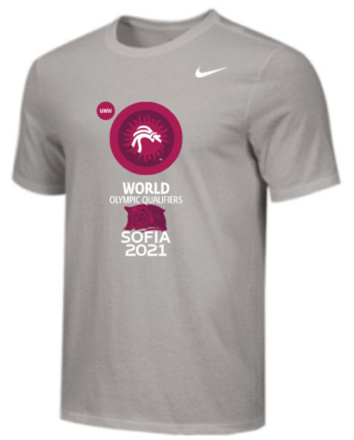 Nike Men's UWW World Olympic Qualifier Tee - Grey