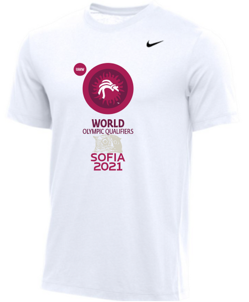 Nike Men's UWW World Olympic Qualifier Tee - White