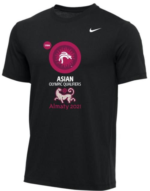 Nike Men's UWW Asian Olympic Qualifier Tee - Black