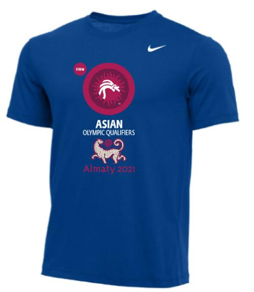 Nike Men's UWW Asian Olympic Qualifier Tee - Royal