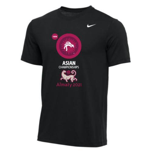 Nike Men's UWW Asian Championships Tee - Black