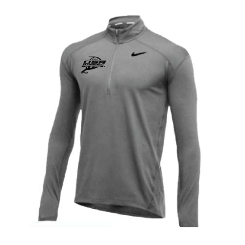 Nike Men's USA Racquetball 1/2 Zip Top - Grey/Black