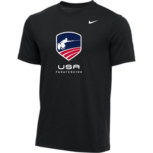 Nike Men's USA Parafencing Tee - Black