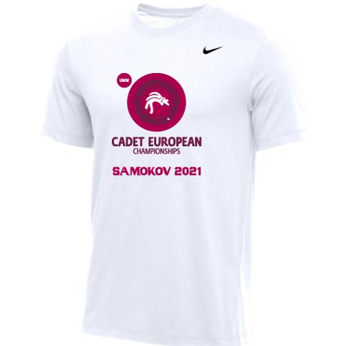 Nike Men's UWW Cadet European Championships Tee - White
