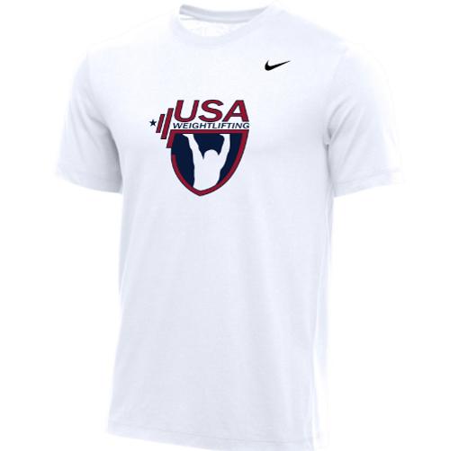 Nike Men's USA Weightlifting  Tee - White