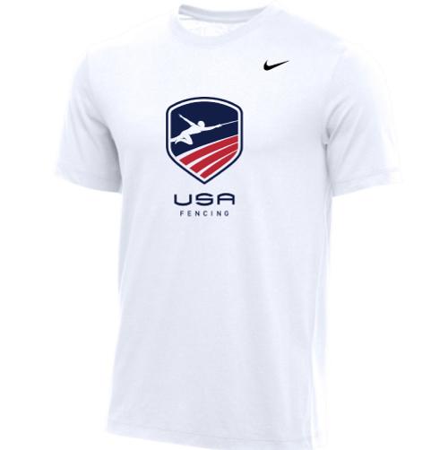 Nike Men's USA Fencing Tee - White