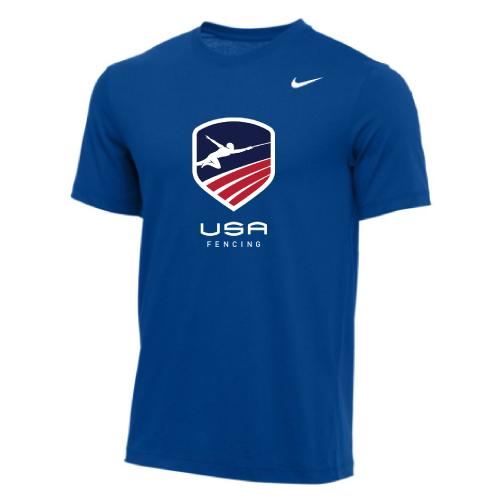 Nike Men's USA Fencing Tee - Royal