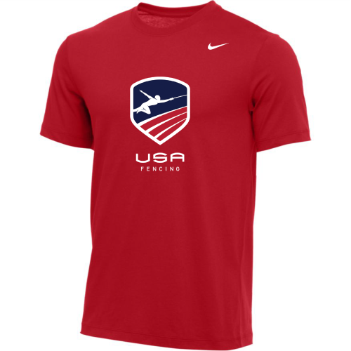 Nike Men's USA Fencing Tee - Red