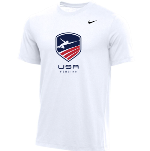 Nike Youth USA Fencing Tee - White