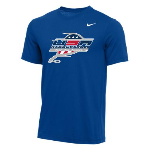 Nike Men's USA Racquetball Tee - Royal